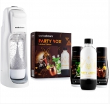 SODASTREAM JET WHITE + PARTY BOX SADA