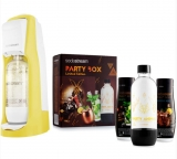 SODASTREAM JET PASTEL YELLOW (YL) + PARTY BOX SADA
