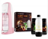 SODASTREAM JET PASTEL RED (RD) + PARTY BOX SADA