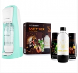 SODASTREAM JET PASTEL GREEN (GR) + PARTY BOX SADA