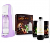 SODASTREAM JET PASTEL VIOLET (VT) + PARTY BOX SADA